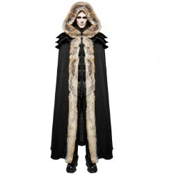 Longue Cape Homme 'Black Foxa'