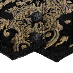 Black and Gold 'Lannister' Girdle