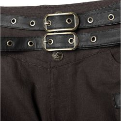 Dark Brown 'Havoc Crew Uniform' Pants