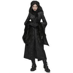 Manteau 'Nimeria' Noir