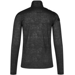 Black Long Sleeves 'Alien Skin' Top