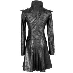 Black Women's Steampunk Jacket