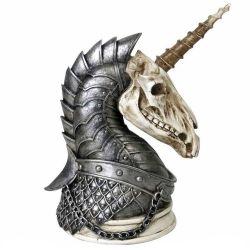 Statuette 'Geistalon Unicorn Skull'
