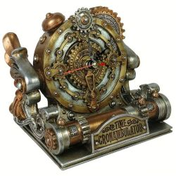 'Time Chronambulator Desk Clock