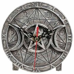 'Wiccan' Desk Clock