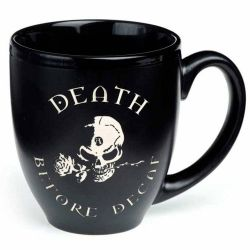 Mug 'Death Before Decaf'