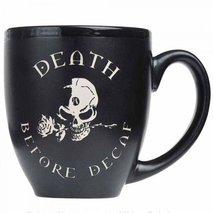'Black Coffee, Black Rose' Mug