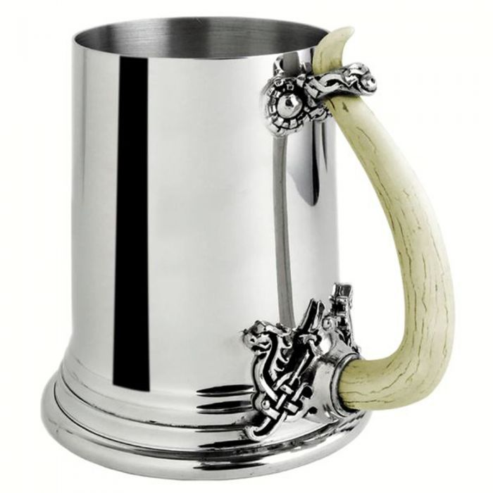 Chope 'Viking Horn' Argentée