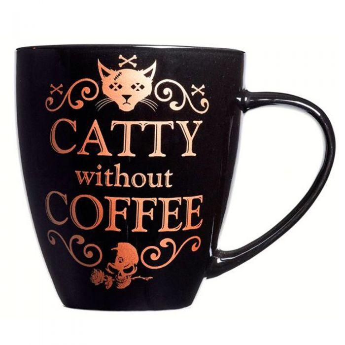 Mug 'Catty Without Coffee'