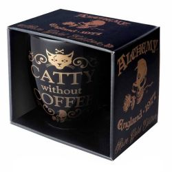 'Catty Without Coffee' Mug