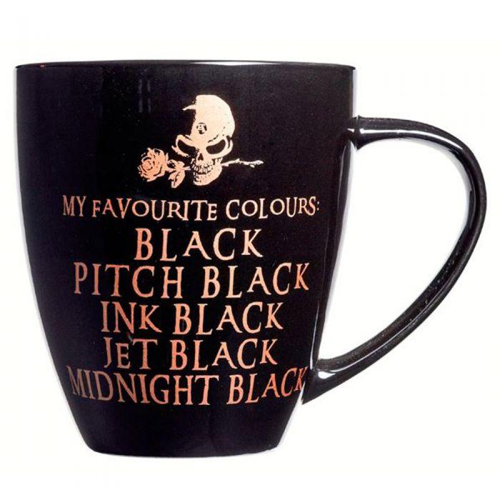 Mug 'My Favourite Colours'
