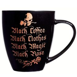 Mug 'Black Coffee, Black Clothes'