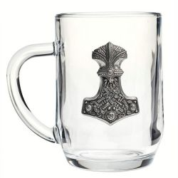 'Thunderhammer Beer Glass