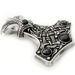 'Thunder Hammer' Belt Buckle