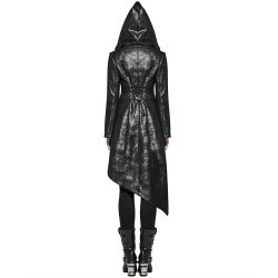 Black 'Scylla' Long Jacket