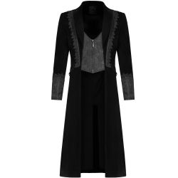 Black 'Royal Vampire' Velvet Jacket