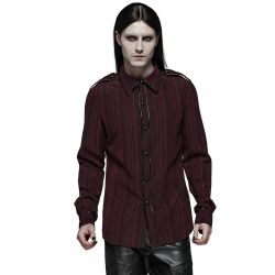 Red 'Bleeding Cherry' Shirt