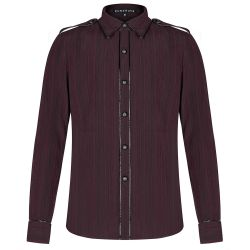 Chemise 'Bleeding Cherry' Rouge