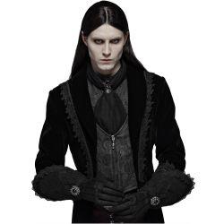 Men's Victorian Gothic 'Royal Vampire' Gloves