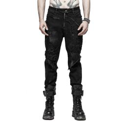Black 'The Dark Tower' Pants