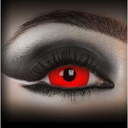 Red 'DareDevil' Contact Lenses