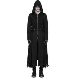 Long Hooded 'Black Swamp' Coat