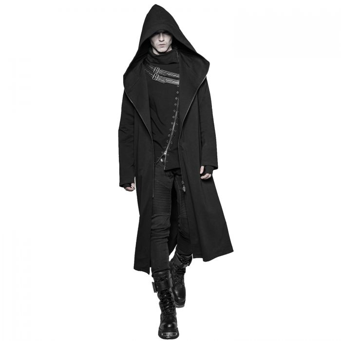 Gothic Dark Series 'Black Plague' Long Coat