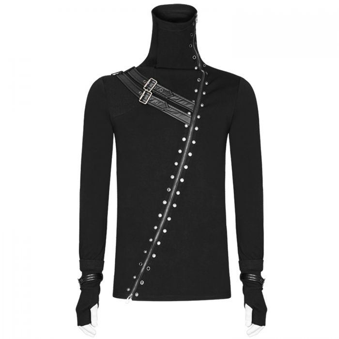 Black Long Sleeves 'Assassin's Creed' Cardigan-Top