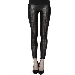Black 'Slasher' Leggings