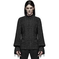Black 'Decadent Lover' Gothic Shirt