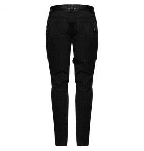 Black Stripes 'Dracarys' Pants