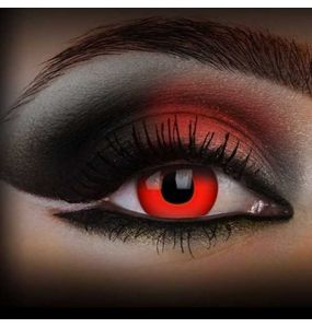 'Red Devil Blood' 1 Day Contact Lenses