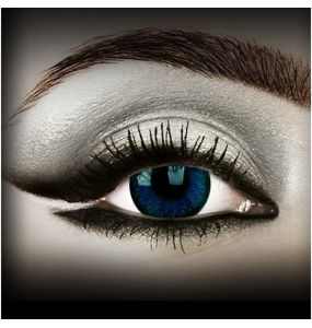 'Natural Blue' Contact Lenses