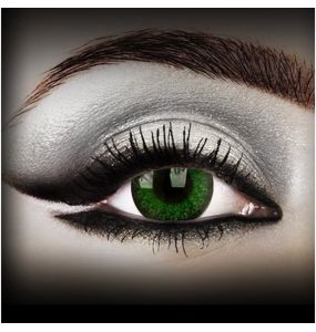 'Natural Green' Contact Lenses