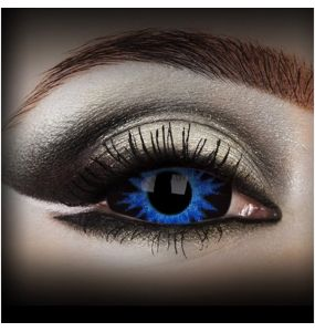 Blue 'Thanos' Sclera Contact Lenses