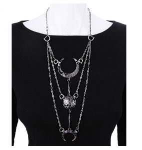 Collier 'Moon Phases'