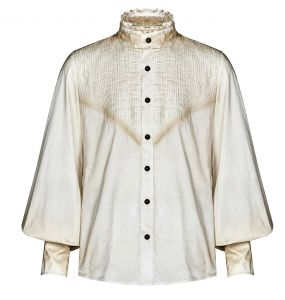 Chemise Steampunk 'Charon' Blanche