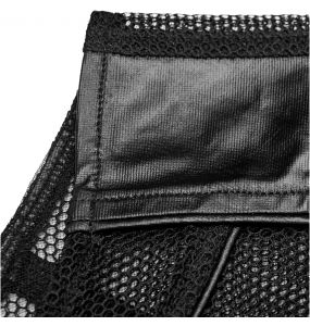 Black 'MeshMachine' Gothic Waistcoat