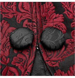Red and Black 'Versailles' Bolero Jacket