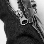 Black Vinyl and Mesh 'Mesmerizer' Females Gloves