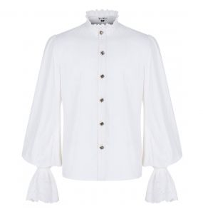 White 'Nightdreamer' Victorian Shirt