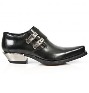 Black Antik New Rock West Shoes