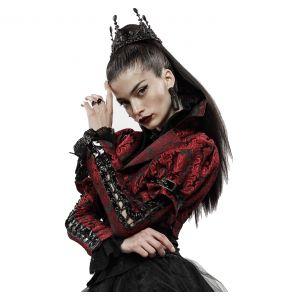 Boléro 'Versailles' Rouge et Noir