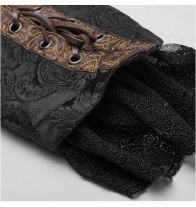 Black and Brown 'Versailles' Steampunk Bolero Jacket