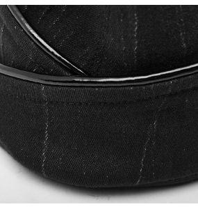 Black 'Vendetta' Military Side Cap