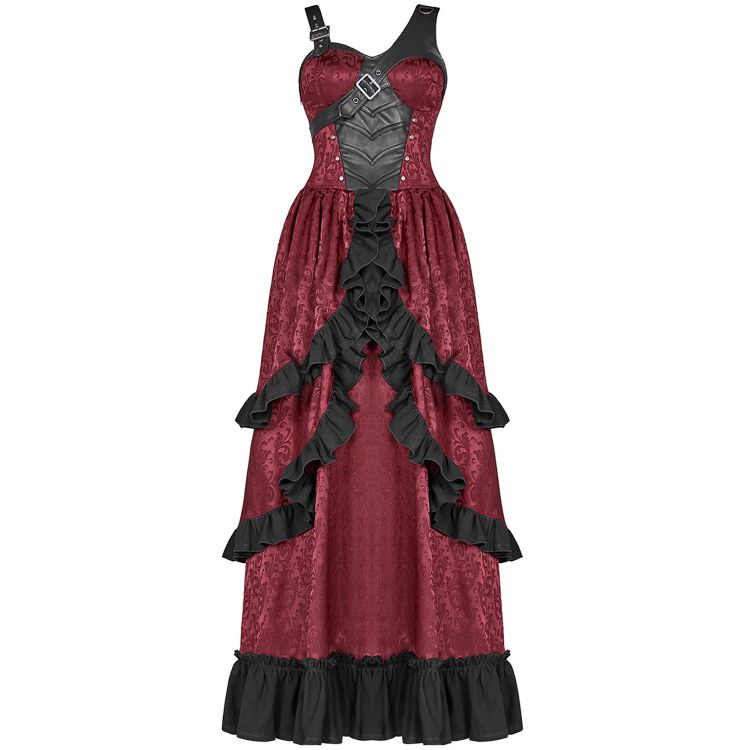 Red 'Cassiopeia' Long Dress