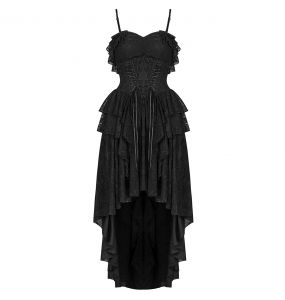 Robe 'Nympha' Noire