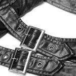 Black 'Norra' Sleeve Harness