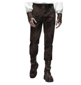 Brown 'Coyote' Steampunk Pants
