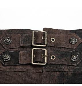 Brown 'Coyote' Steampunk Pants